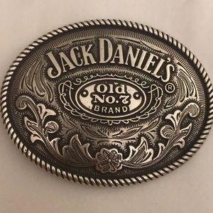Vintage Jack Daniels Old No. 7 Belt Buckle EUC